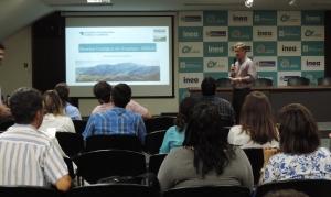 Nicholas Locke presenting at the Seminar