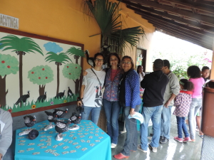 Livia Dias, Raquel Locke and Staff at Funchal School